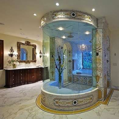 Phil Mickelson Shower