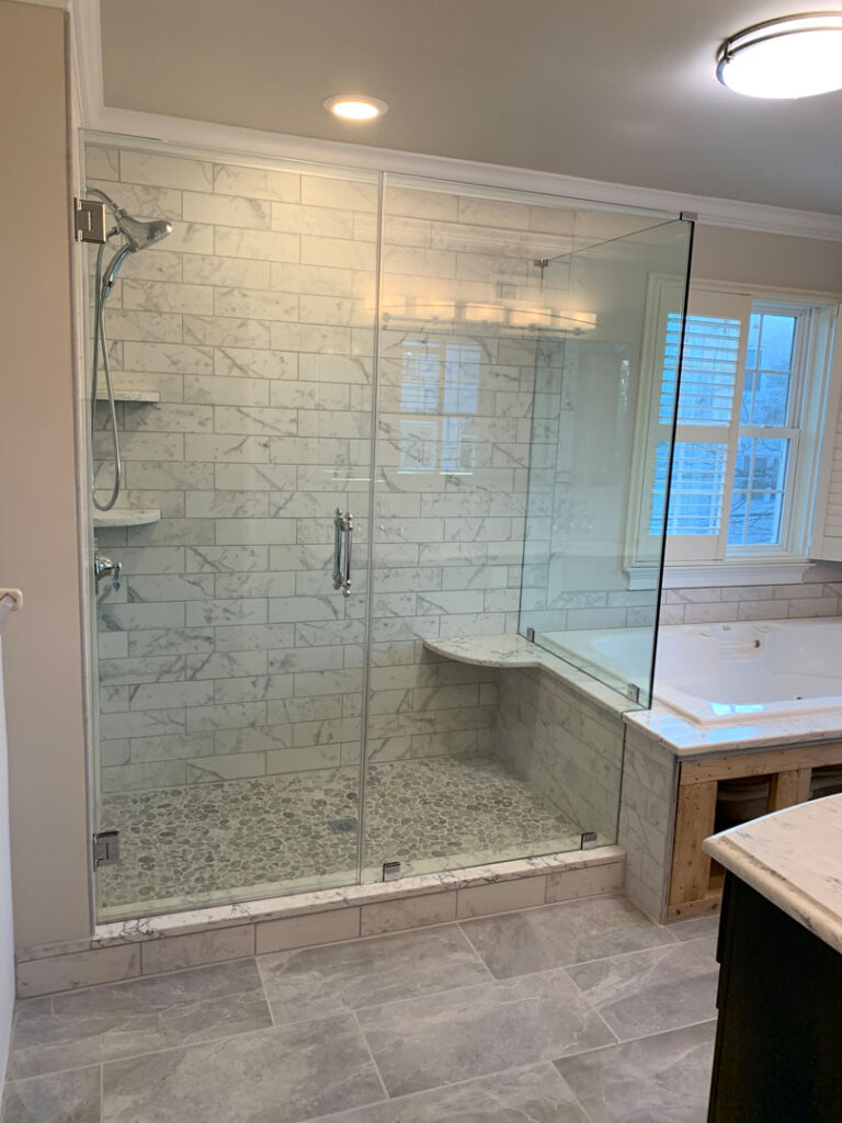 custom glass shower door Philadelphia